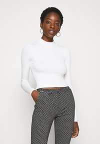 Even&Odd - 2 PACK- CROPPED JUMPER - Svetr - black/white - 2