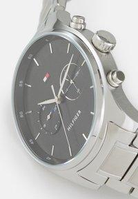 Tommy Hilfiger - SAWYER - Watch - silver-coloured/black - 3