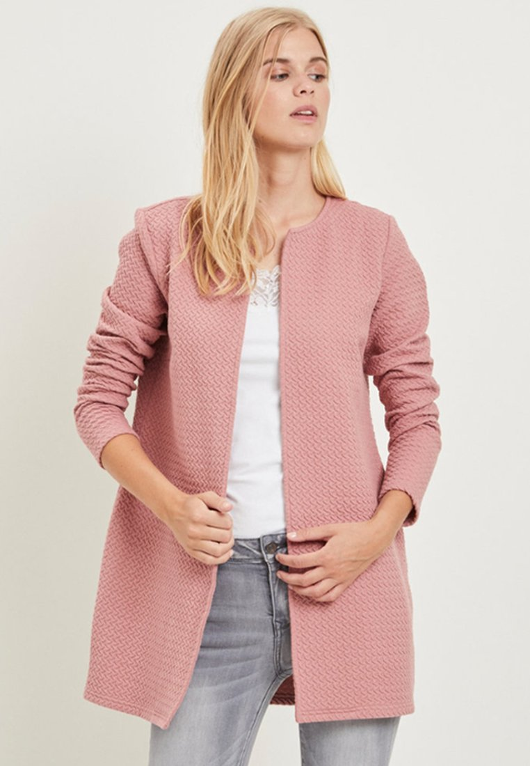 Vila - VINAJA NEW LONG JACKET - Summer jacket - taupe