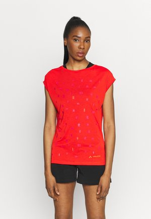 TEKOA - Print T-shirt - mars red
