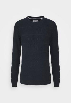 JCOSNOW CREW NECK - Trui - navy blazer
