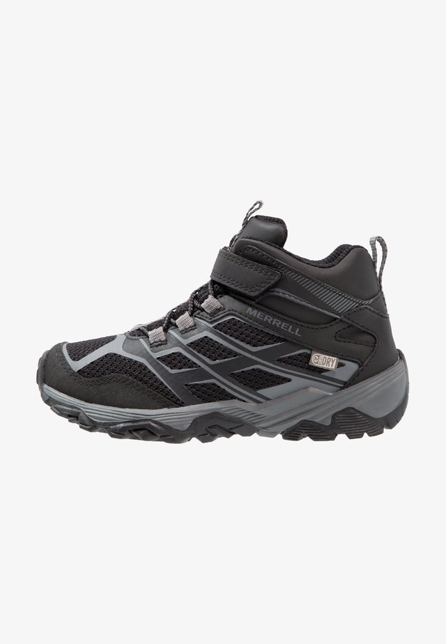 MOAB MID A/C WTRPF - Hiking shoes - black