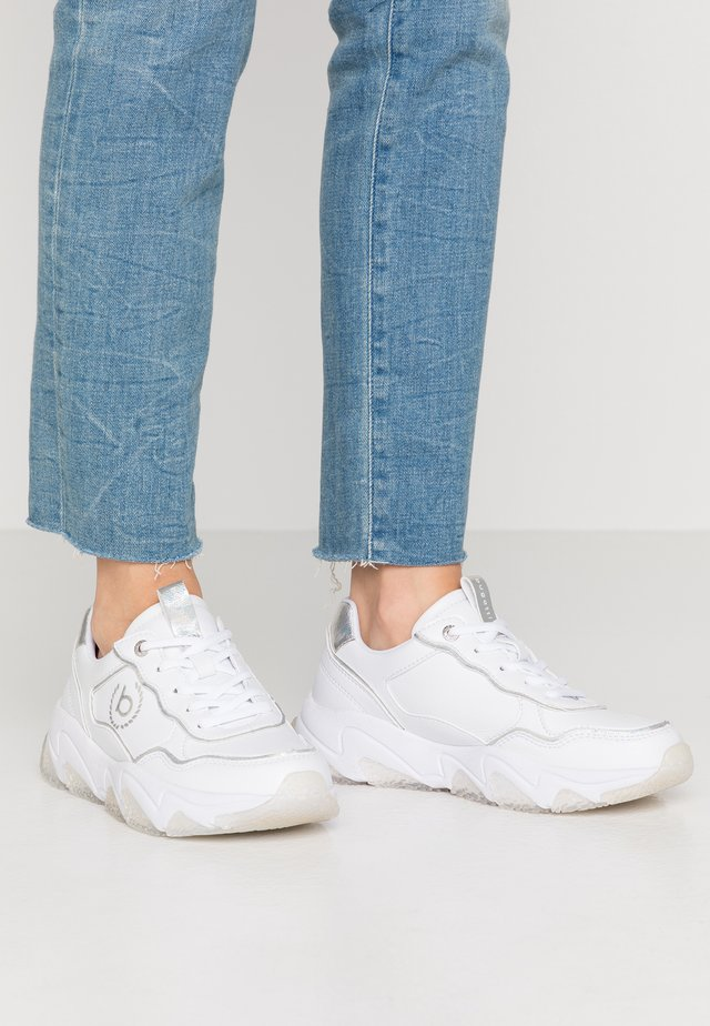 CEYDA - Trainers - white/silver
