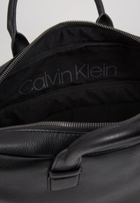 Calvin Klein - LAPTOP BAG - Aktentasche - black - 4