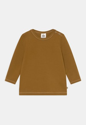 COZY ME UNISEX - Long sleeved top - mustard yellow