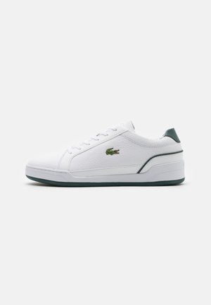 CHALLENGE - Sneakers laag - white/dark green