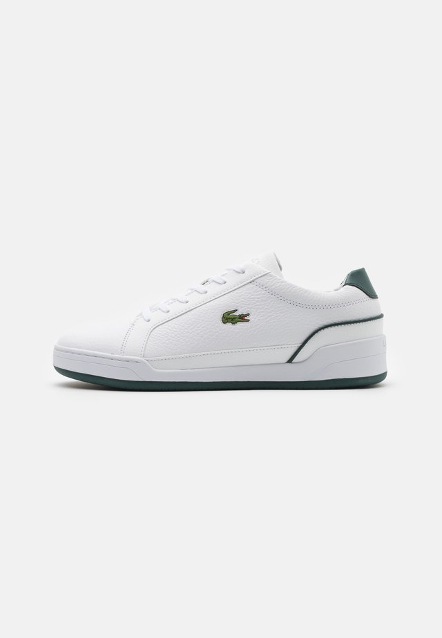 CHALLENGE - Sneakers basse - white/dark green