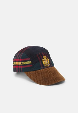 LONG BILL GEAR UNISEX - Cap - red multi plaid