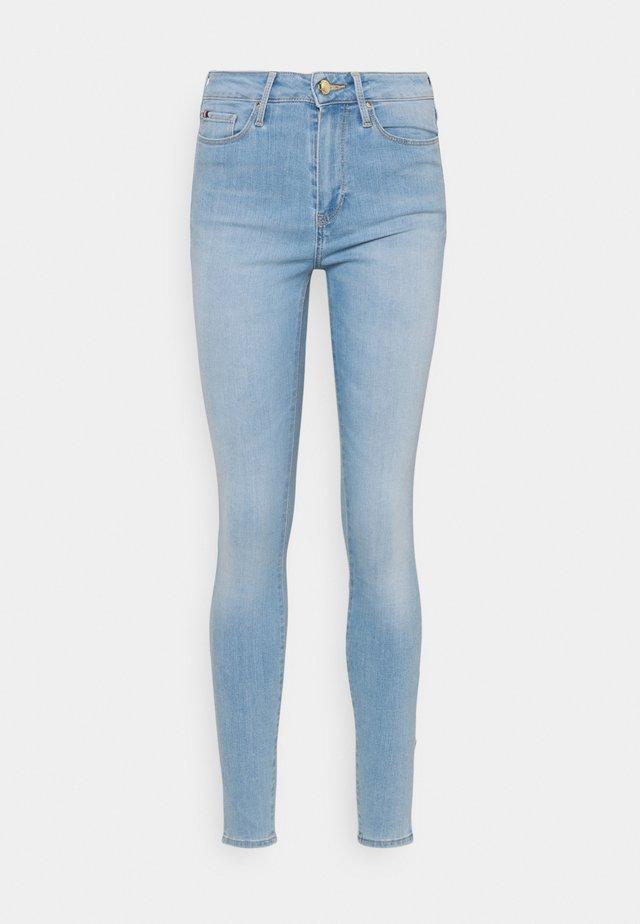 FLEX HARLEM - Skinny džíny - light-blue denim