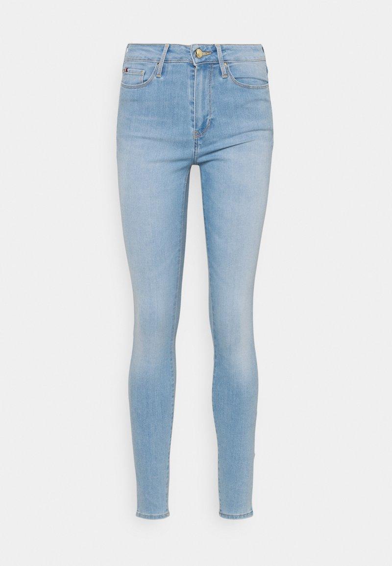 Tommy Hilfiger - FLEX HARLEM - Skinny džíny - light-blue denim