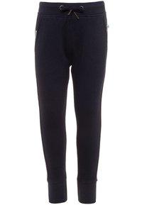 Blue Seven - KIDS UNISEX BASIC 2 PACK - Teplákové kalhoty - nachtblau/nebel - 2