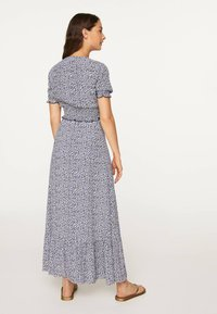 OYSHO - A-line skirt - blue