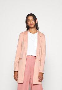 Vero Moda - VMCHLOE LONG BOO - Short coat - misty rose - 0