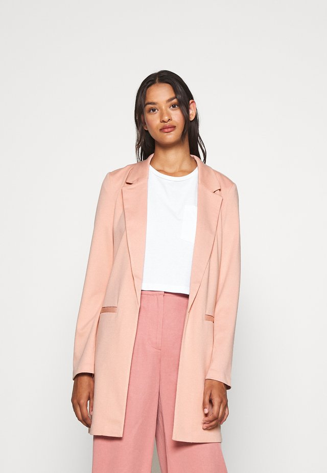 VMCHLOE LONG BOO - Manteau court - misty rose