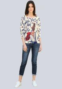 Alba Moda - Sweatshirt - off-white,marineblau - 1