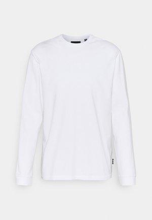 ONSMILLENIUM LIFE REG TEE - Long sleeved top - white