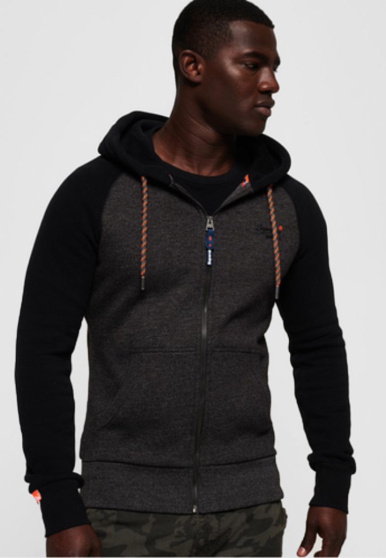 Superdry - Zip-up hoodie - dark gray