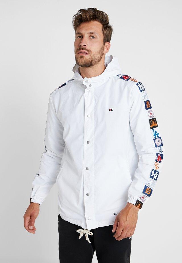 MLB MULTITEAM JACKET - Sportovní bunda - white