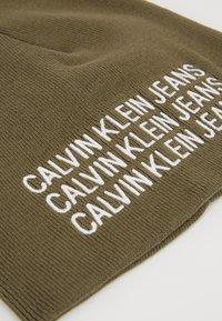 Calvin Klein Jeans - BOYS BASIC BEANIE - Mütze - green - 2