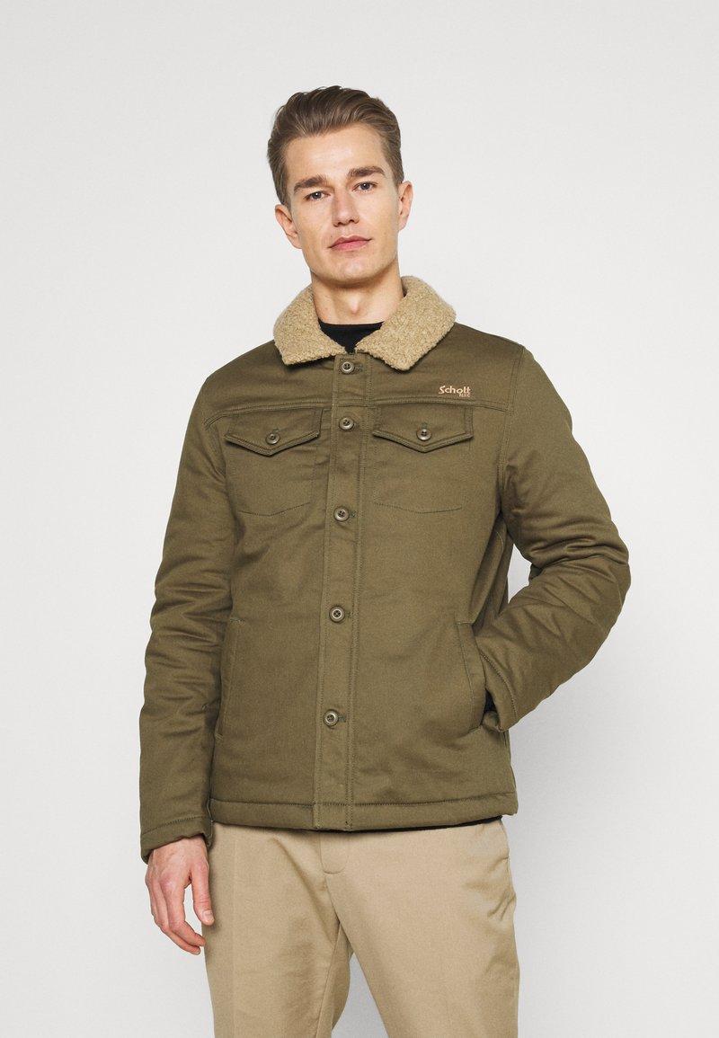 Schott - CRUISER - Light jacket - kaki