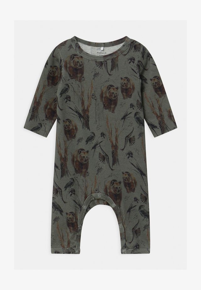 NBMROBIN  - Pyjamaser - agave green