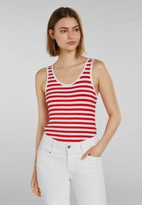 Oui - Top - white red - 0