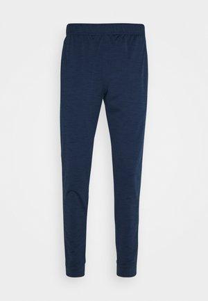 PANT DRY YOGA - Pantalones deportivos - midnight navy/dark obsidian/gray