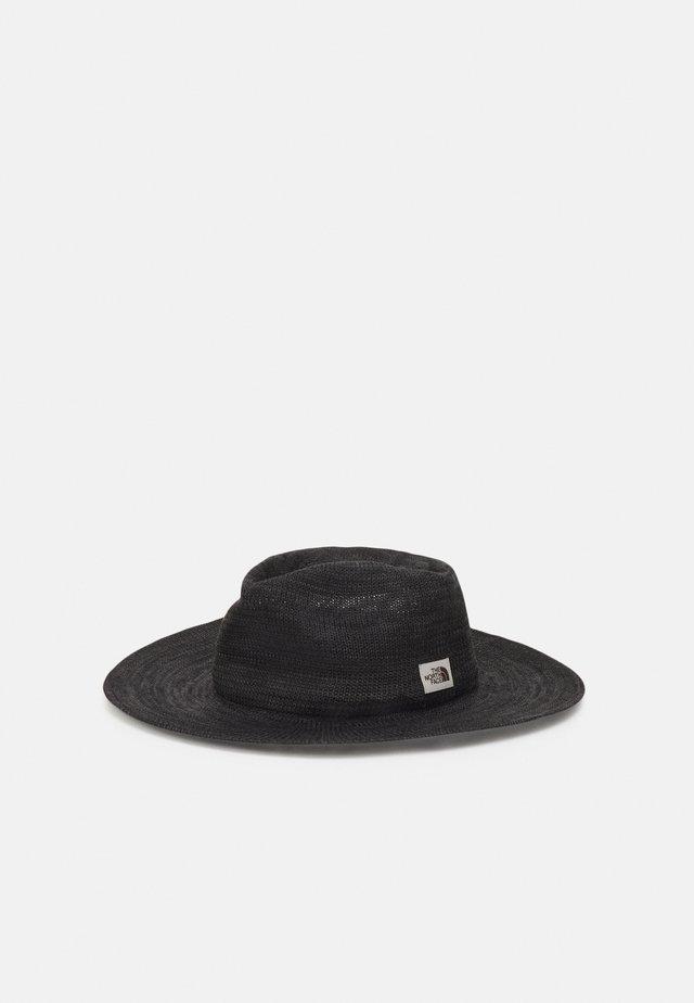 PACKABLE PANAMA HAT - Hat - asphalt grey