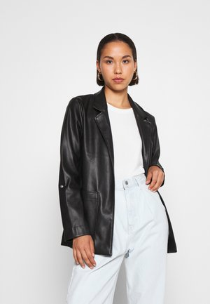 ONLVIBE  - Faux leather jacket - black