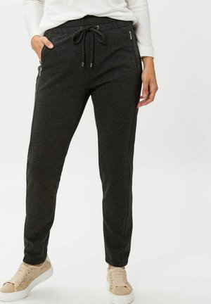 PEGGY - Tracksuit bottoms - anthra