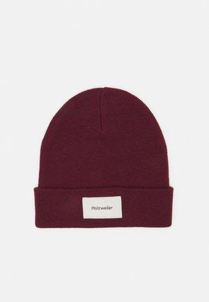 ORN BEANIE - Mütze - burgundy