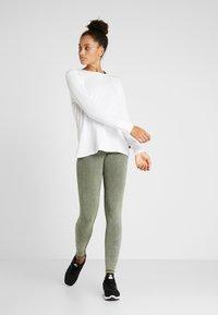 Cotton On Body - WASHED BACK - Tights - khaki - 1