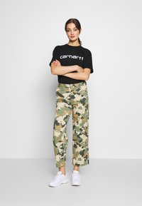 Carhartt WIP - SCRIPT - T-shirt imprimé - black/white - 1