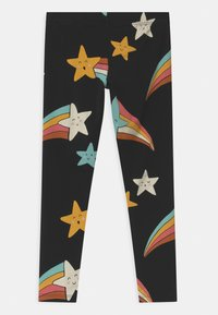 Lindex - MINI SHOOTING STARS - Leggings - Trousers - off black - 1