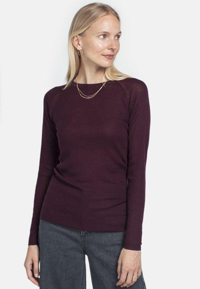 Maglione - burgundy