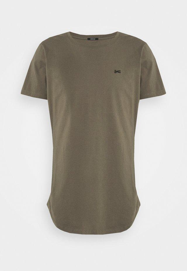 LUIS TEE UNISEX - T-shirt basic - bungee cord brown