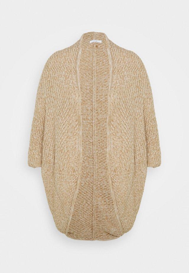 AMARYLLIS WAFFLE - Cardigan - creamy camel