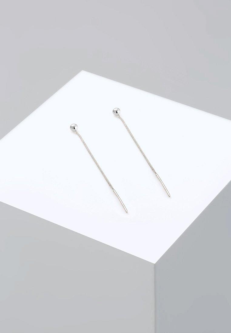 Elli - GEO KUGEL - Earrings - silver-coloured