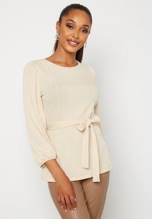 CAROLINE - Long sleeved top - tan
