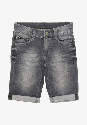 BERMUDA - Farkkushortsit - grey/black