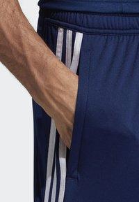 adidas Performance - TIRO 19 AEROREADY PRIMEGREEN SHORTS - Sports shorts - blue - 3