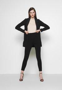Vero Moda - Halflange jas - dark grey melange - 1