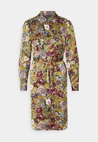 Vero Moda Petite - VMEMELY BELT DRESS - Vestido informal - green moss - 0