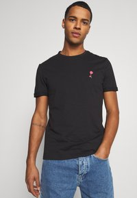 Pier One - T-shirt imprimé - black - 0