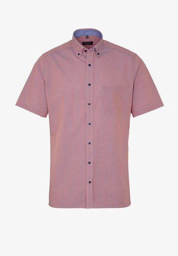 MODERN FIT  - Shirt - pfirsich/weiss