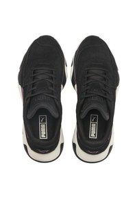 Puma - STORM STREET - Sneakers laag - black/plum purple - 2