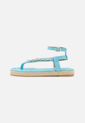 T-bar sandals - sky blue