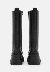 Buffalo - VEGAN ASPHA ON - Platform boots - black - 3