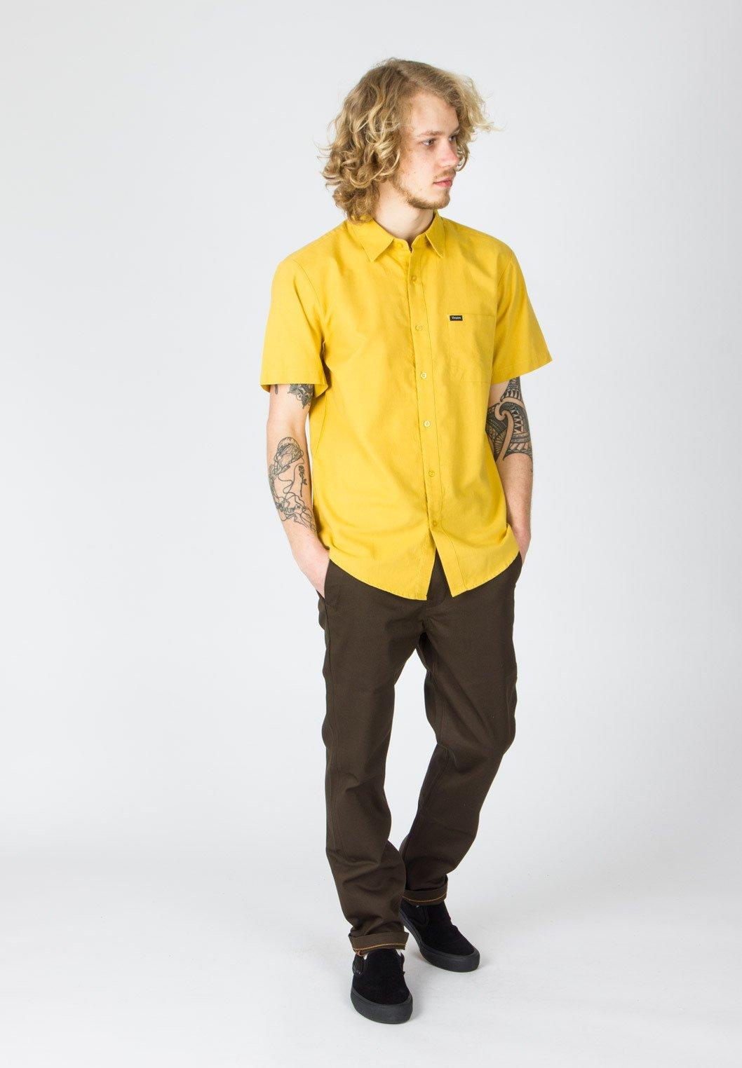Brixton CHARTER OXFORD - Chemise - sunset yellow