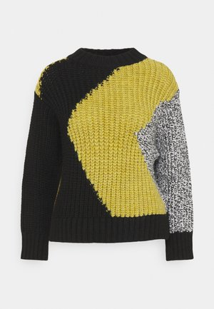 CHUNKY ABSTRACT JUMPER - Jumper - multi